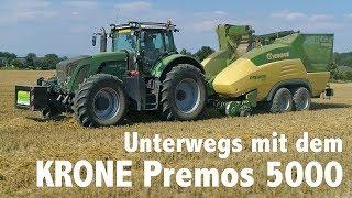 KRONE Premos 5000 im Einsatz in Österreich @ Agrar Service Steinwendner
