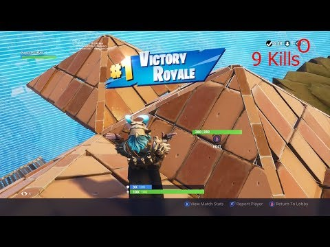 Winning Fortnite Battle Royal To Get Max Level Ragnarok!