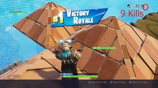 Winning Fortnite Battle Royal To Get Max Level Ragnarok!