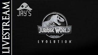 [FR] Rediff Jurassic World Evolution en live ! (Partie 1)