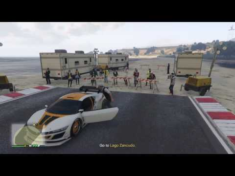 GTA 5 - Import/Export - Source - Movie stunt jump Lago Zancudo (stealth way)