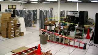 Server Room Construction, Six Months in Two Minutes