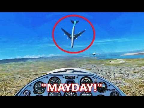 FSX Multiplayer Trolling: ATC Can't Handle MAYDAY Calls! (Steam Edition)
