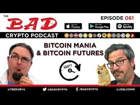 Bitcoin Mania and Bitcoin Futures | BCP 061