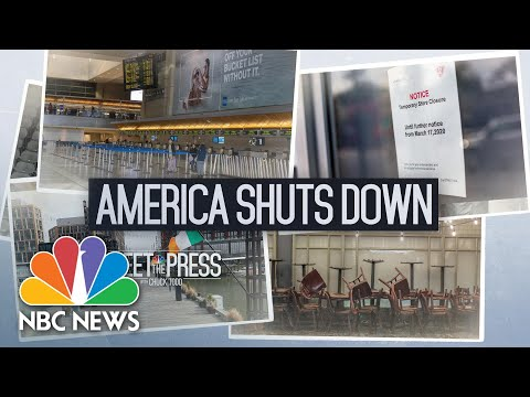 Meet The Press Broadcast (Full) - March 22nd, 2020   Meet The Press   NBC News