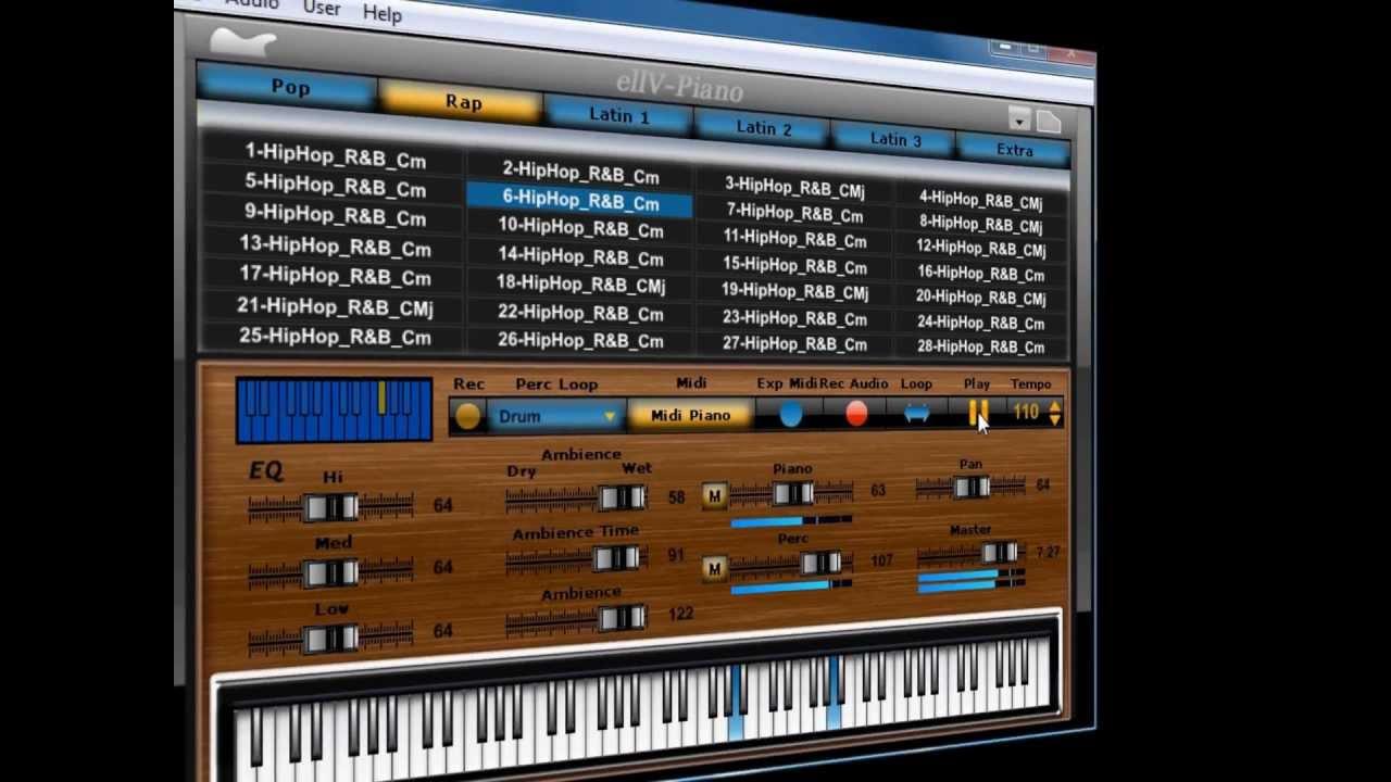 Using Musical Typing