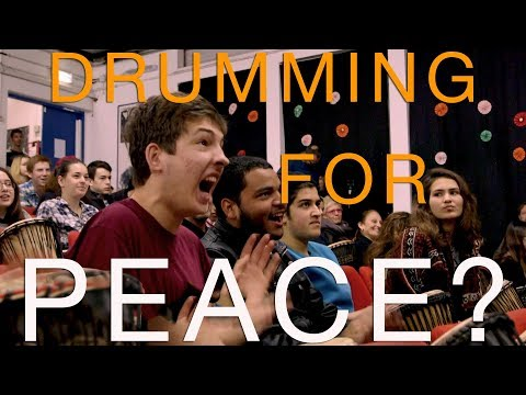Drumming for Peace? | Leon Charney Reporters