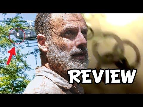 Fear The Walking Dead Season 5 Premiere 'Rick Grimes & Symbol' Review & Easter Eggs Explained