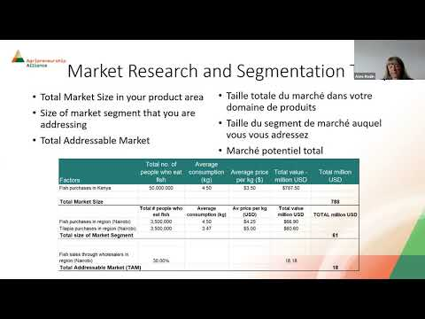 Webinar 3 : Market Research and Segmentation