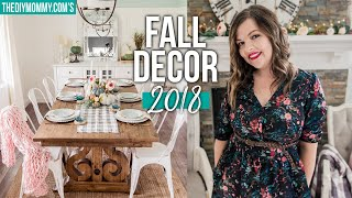 Fall 2018 Decorating Ideas | Fall DIY & Decor Challenge 2018