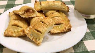 Сладкие пирожки с яблоком из хлеба Супер простой рецепт пирогов без замешивания теста