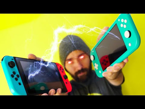 Use a Switch Lite and Switch!