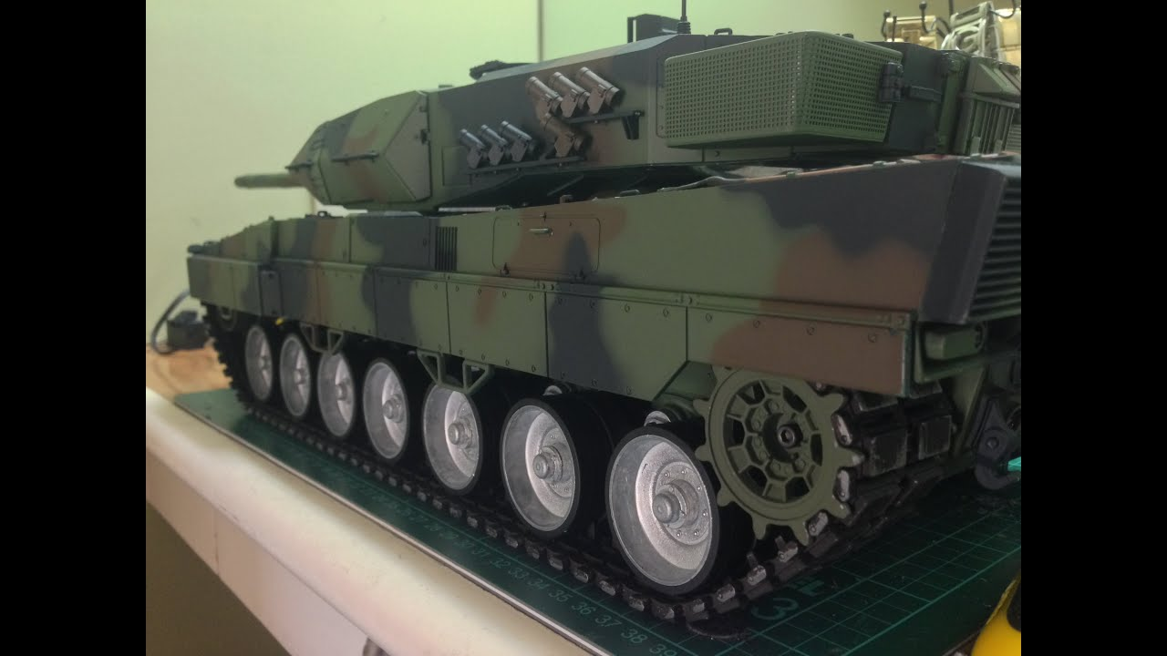 Henglong leopard 2a6 w tamiya 540motors gopro hero 3 black edition youtube