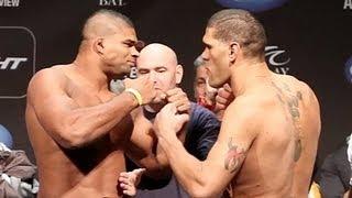 Alistair Overeem vs Bigfoot Silva UFC 156 FaceOff