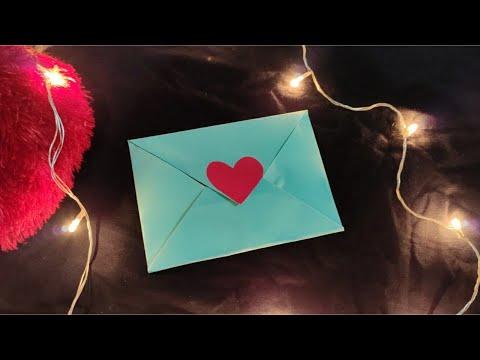Easy steps to make an envelope 💌 || origami || paper origami || diy envelope || Seema Ali Shervani