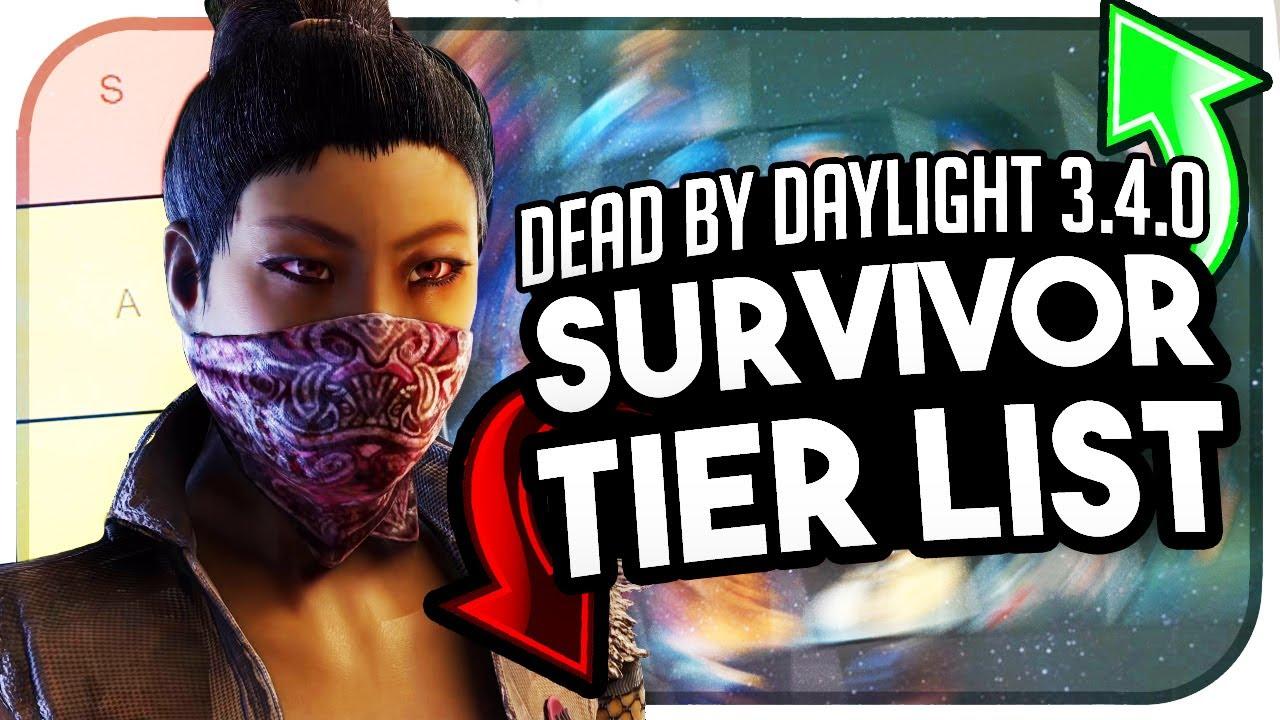 Unist Tier List 2020.3 4 2 Survivor Tier List Dead By Daylight New Survivor Tier List In Dead By Daylight