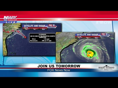 FNN: Hurricane Florence changes direction, Medal of Honor ceremony