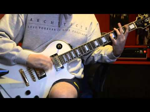 Blink 182 - Stay Together For The Kids (guitar cover)