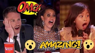 All 9 AMAZING COMPLETE Golden Buzzers | America's Got Talent 2017