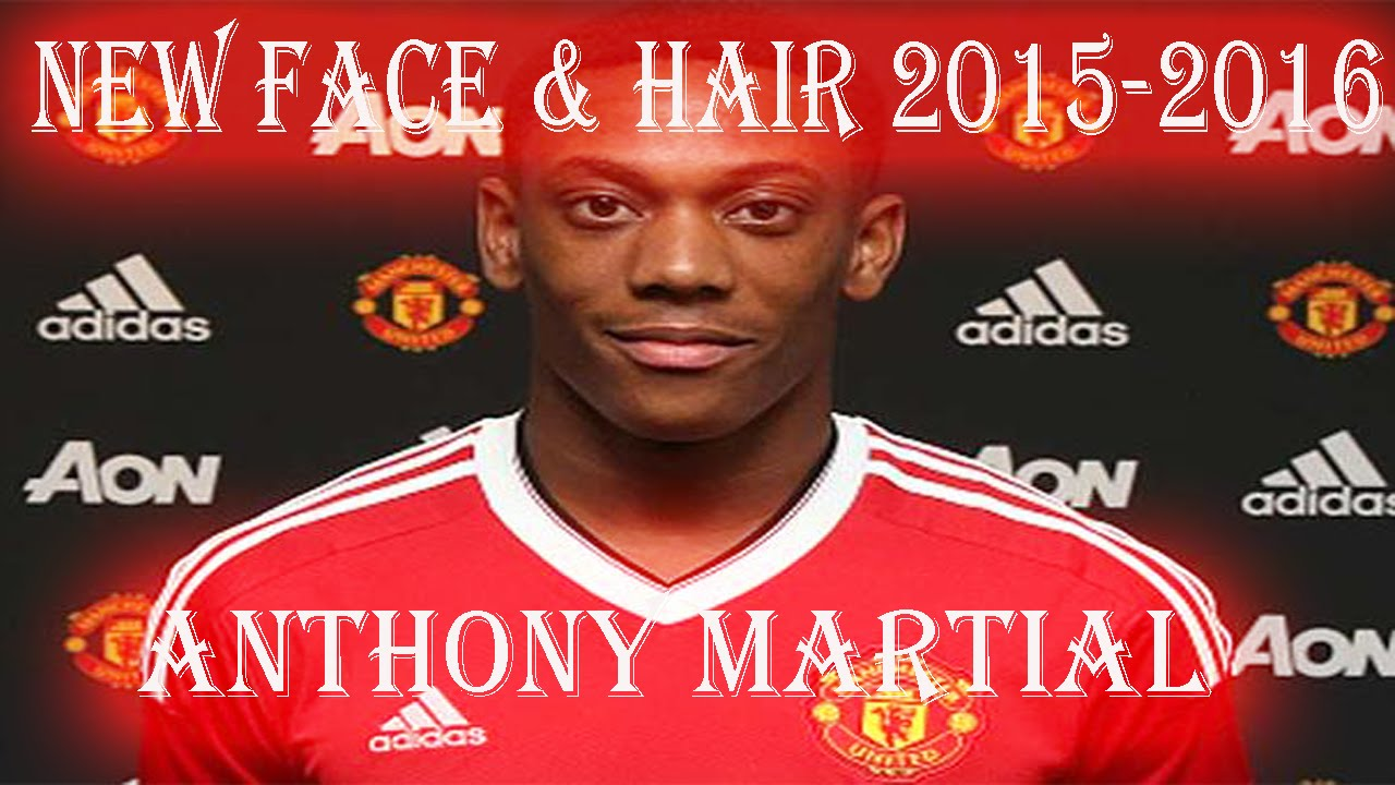 NEW FACE & HAIR • ANTHONY MARTIAL • 2015/2016 [PES2013
