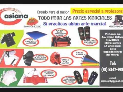 2405f5a60 Asiana Monterrey México. Equipo y uniformes para todas las artes marciales