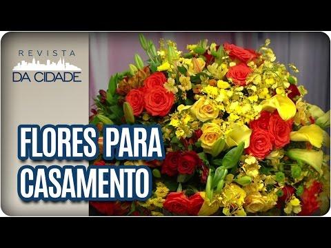 Tendência de Flores para Casamento - Revista da Cidade (25/04/2017)