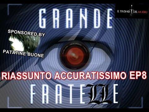 RECENSIONE DEATH NOTE EPISODIO 8 RIASSUNTO(?) ACCURATISSIMO 'IL GRANDE FRAT ELLE'
