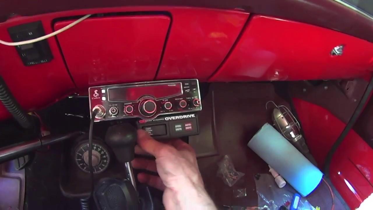 1986 Chevy K10 Gear Vendors Overdrive Installation Part 2 Youtube Camaro Wiring Diagram Schematic