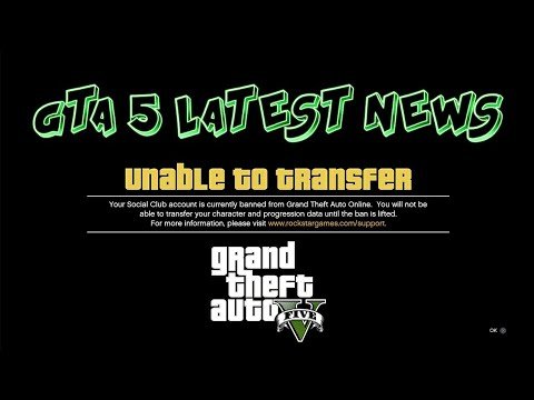 I FOUND A WAY TO TRANSFER  CHARACTER TRANFER IN GTA 5 FOR ALL CONSOLE (XBOX ONE,PS4,PS3,XB360,PC)