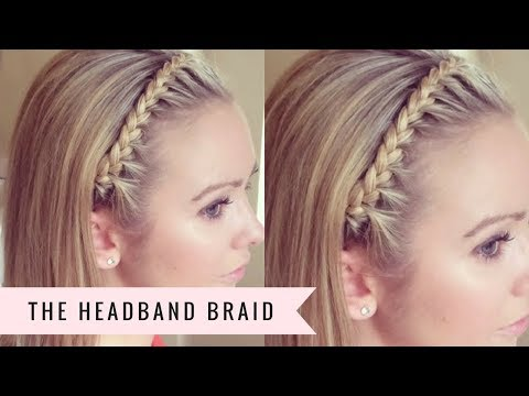 The Headband Braid By SweetHearts Hair Design YouTube