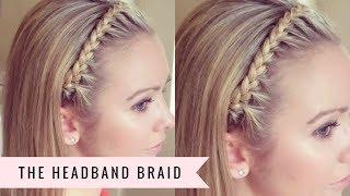 the headband braid by sweethearts hair design