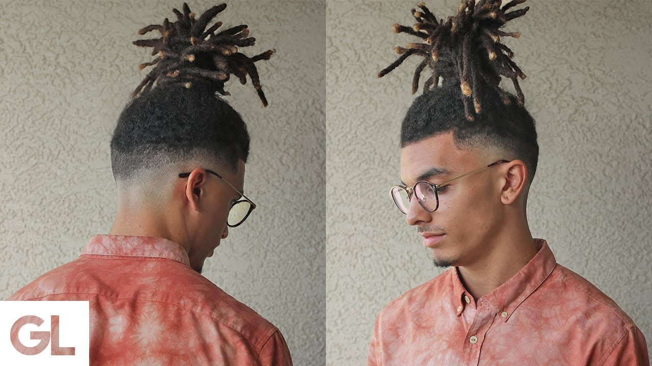 High Top Fade With Dreadlocks