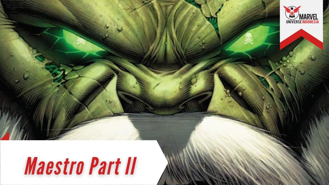 Rencana Doctor Doom Menguasai Kota Masa Depan   Maestro Part 2