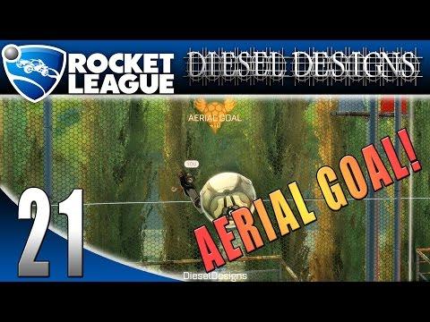 Rocket League: Season 2: EP21: Aerial Goal! (Sports Gameplay)
