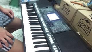 Đêm giao thừa nge một khúc dân ca Organ S750