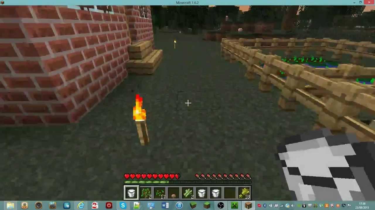 Tuto comment faire un gateau dans minecraft partie 2 youtube - Comment faire une laisse dans minecraft ...