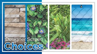 Custom Graphic Windscreen & Privacy Fence Screen