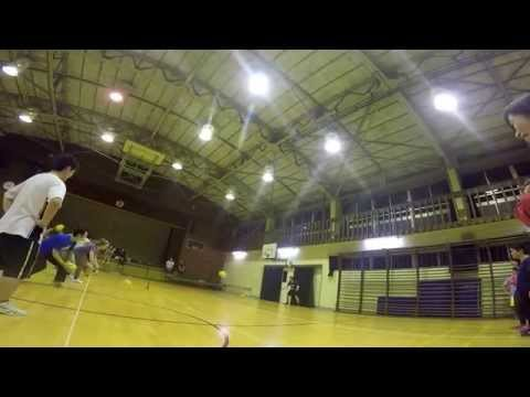 Tokyo Dodgeball Friendship Club - February 23 Part 1