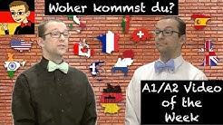 German for Beginners #12: Where are you from?