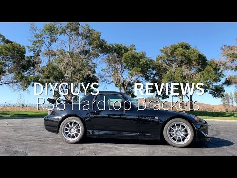Rockstar Garage Two Piece Hardtop Bracket Review | Honda S2000 - YouTube