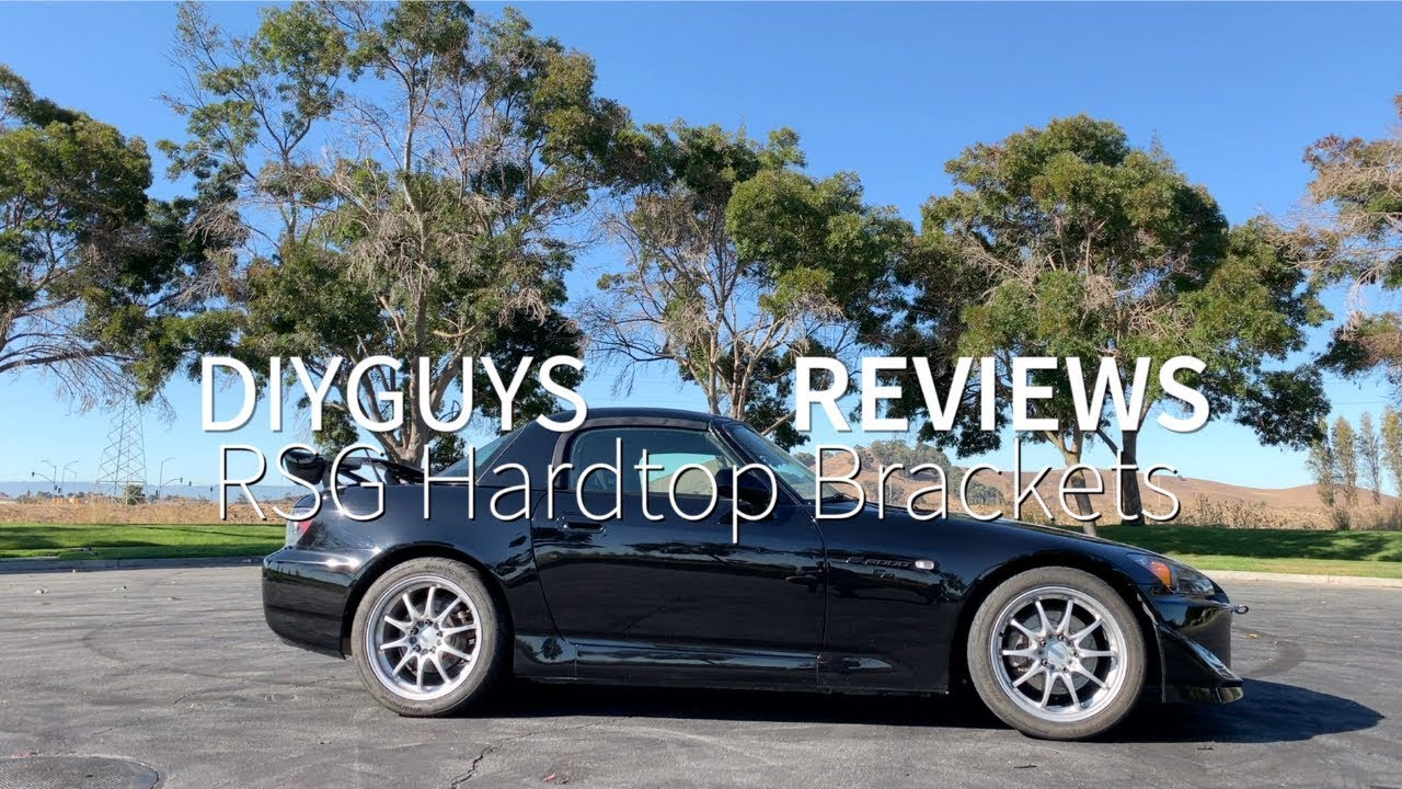 Rockstar Garage Two Piece Hardtop Bracket Review | Honda S2000