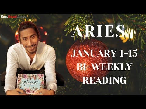 """ARIES SOULMATE """"I HAVE TO GO"""" JAN 1-15 BI-WEEKLY TAROT READING"""