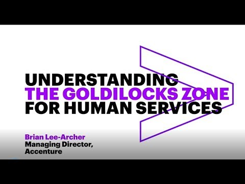 """Understanding the """"Goldilocks Zone for Human Services"""""""