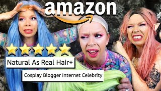TESTING CHEAP WIGS from AMAZON *YOU WILL BE SHOCKED?!*