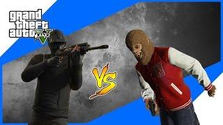 Kera Sakti..!! - Beast vs Slasher II - Grand Theft Auto V Indonesia
