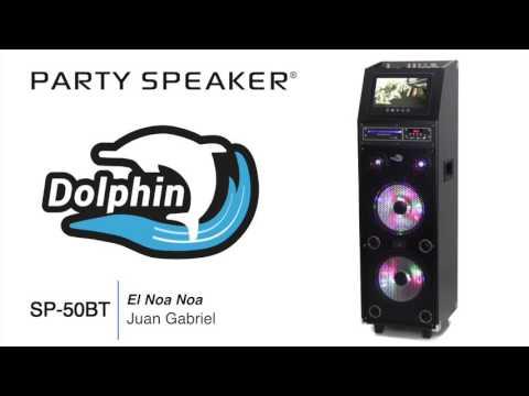Dolphin SP-50BT Karaoke Party Machine Bluetooth & DVD Player