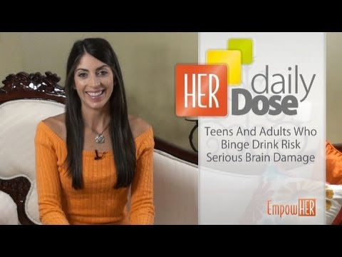 Binge Drinking and Brain Damage -- HER Daily Dose