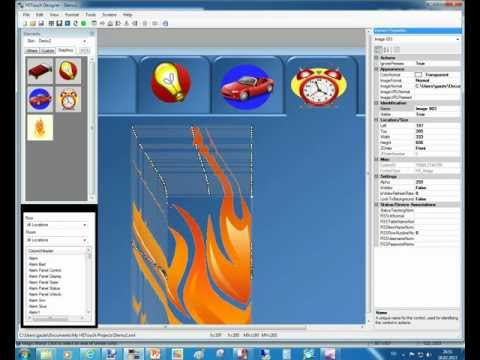 Building HSTouch graphics with Powerpoint and PaintNET Part 2
