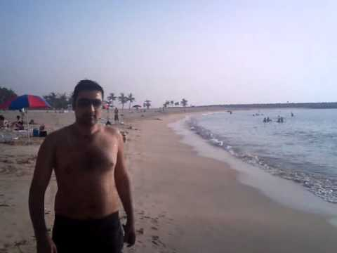 Darra Adam khel in al mamzar beach Travel Video