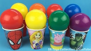 60 + SURPRISE EGGS and TOYS unboxing FROZEN, SPIDER-MAN, Shopkins, Disney Princess, CARS, Star Wars – 3S